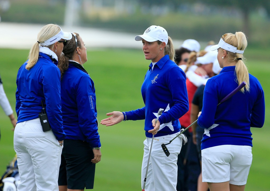 Suzann Pettersen apologises for actions during Solheim Cup controversy