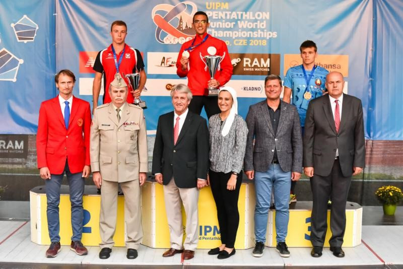 Elgendy wins men's title for Egypt at World Junior Modern Pentathlon Championships