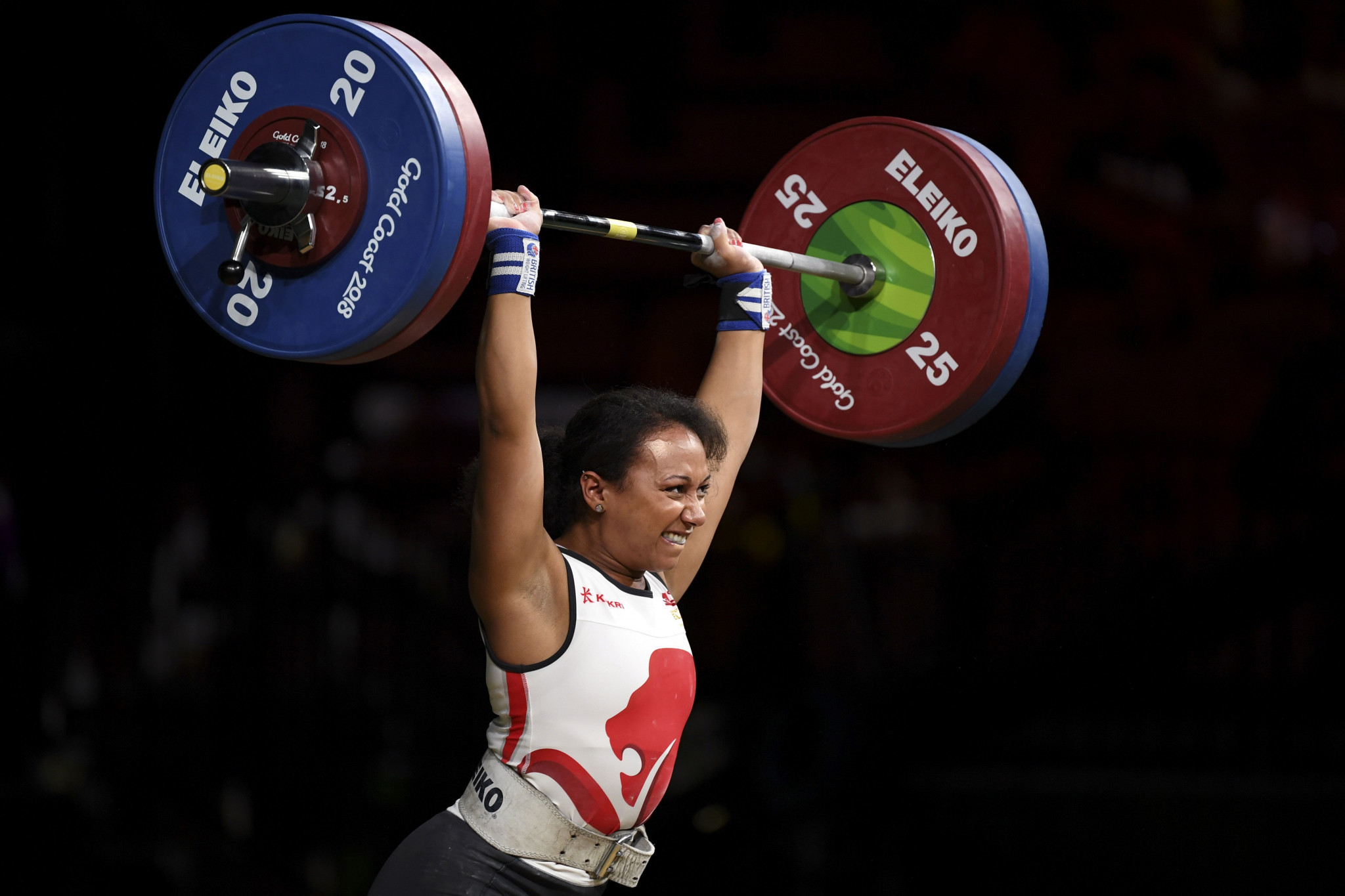 Britain's elite weightlifters such as Zoe Smith have had to turn to crowdfunding ©Getty Images