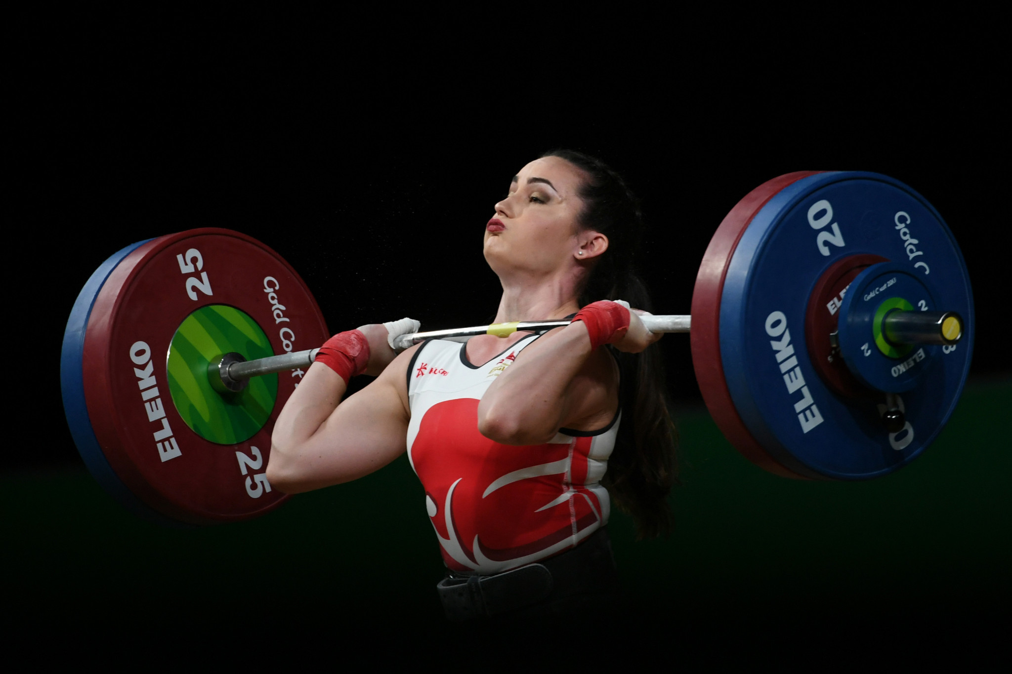 Sarah Davies is another weightlifter impacted by a lack of funding ©Getty Images
