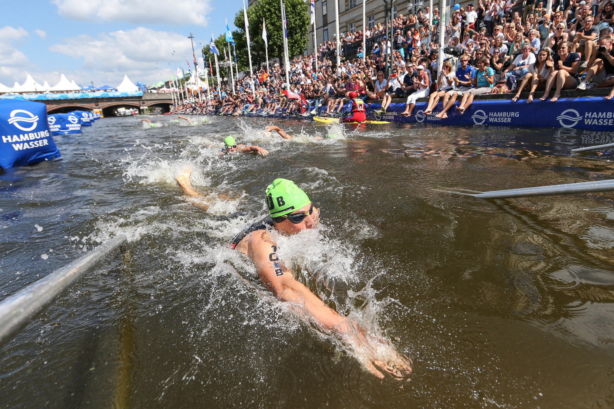 Tokyo 2020 and the ITU have announced their triathlon courses ©Getty Images