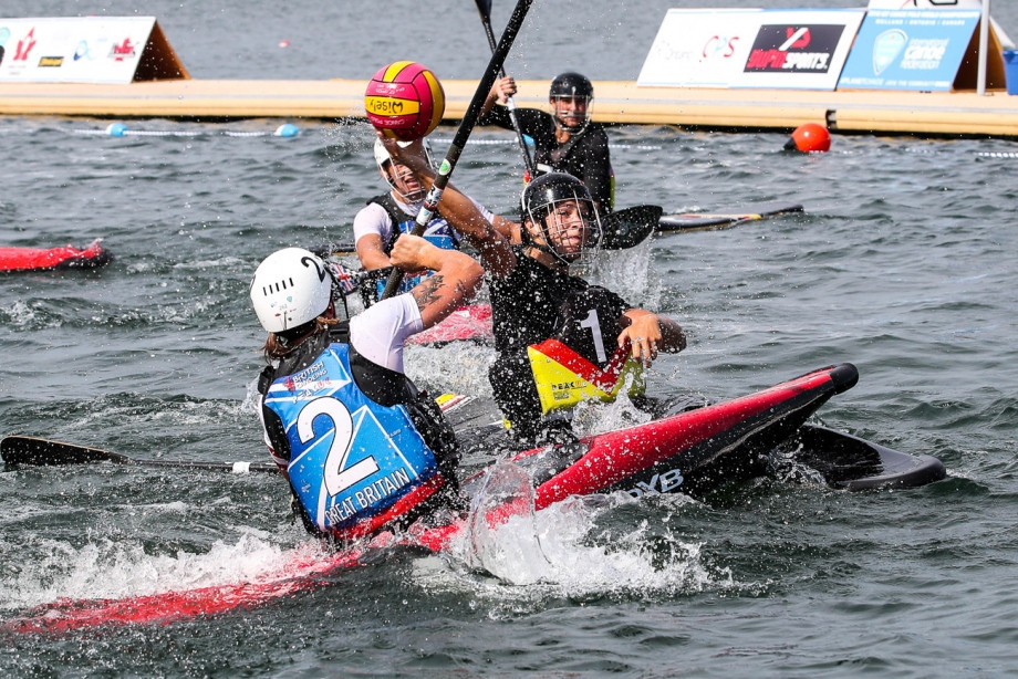 The women defeated Britain in their final ©ICF