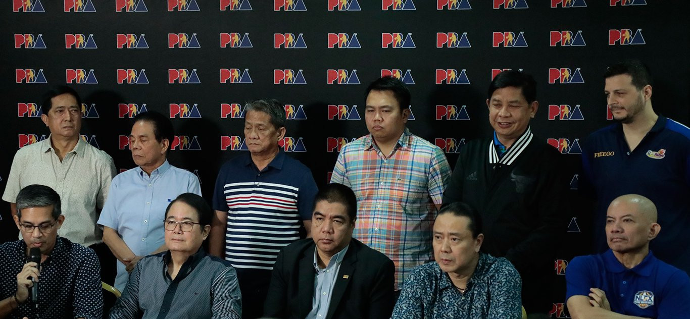 The Philippine Basketball Federation announced their decision to reverse a decision not to compete at the 2018 Asian Games during a press conference in Manila ©SBF