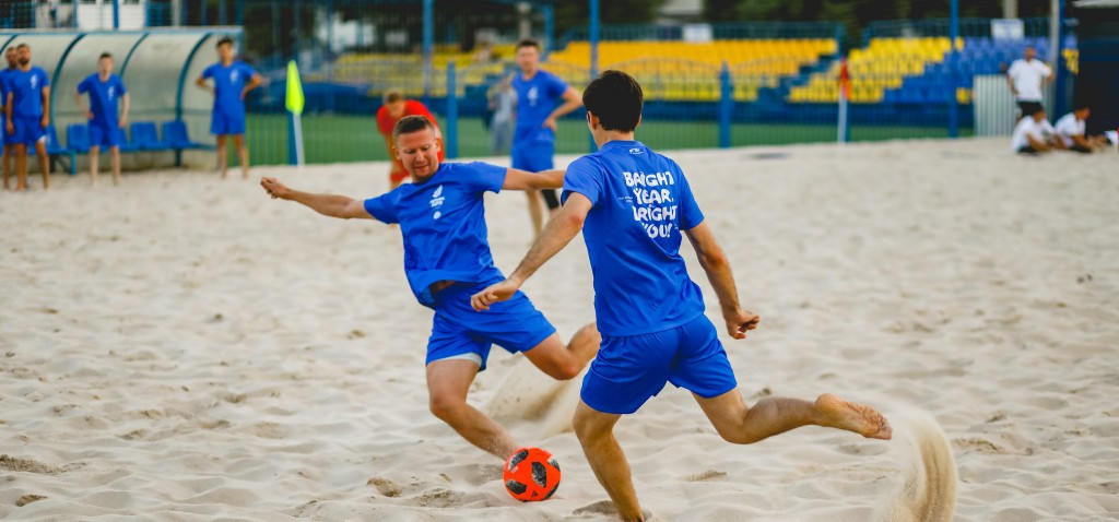 The initiative launched at a beach soccer tournament  ©Minsk 2019