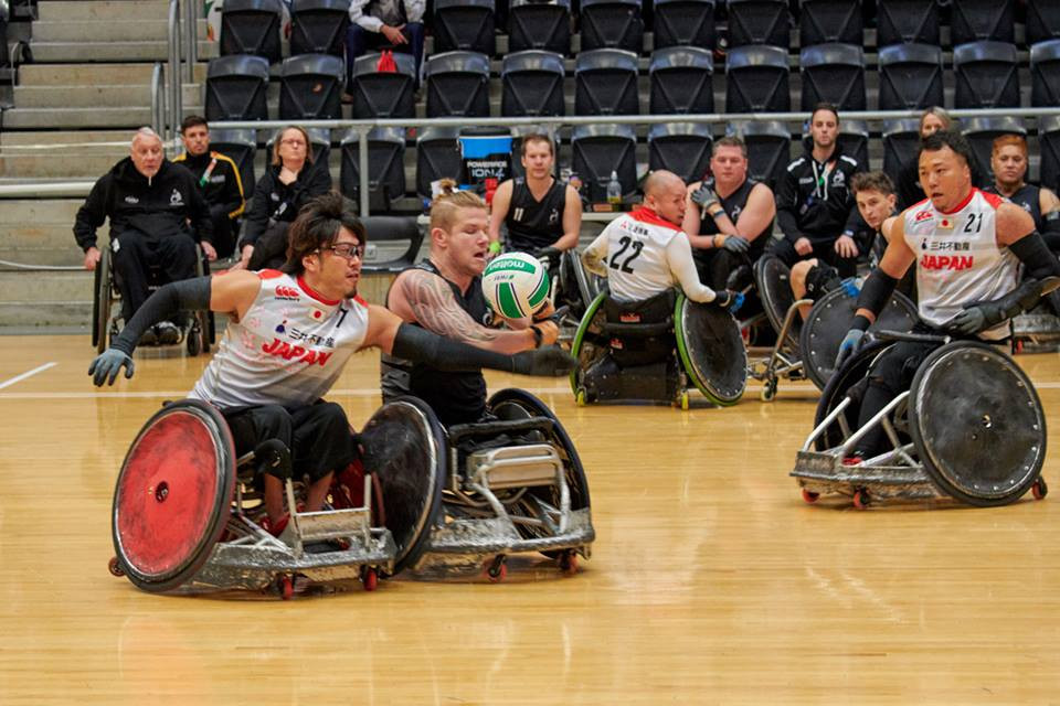 Japan are one of five unbeaten sides ©IWRF