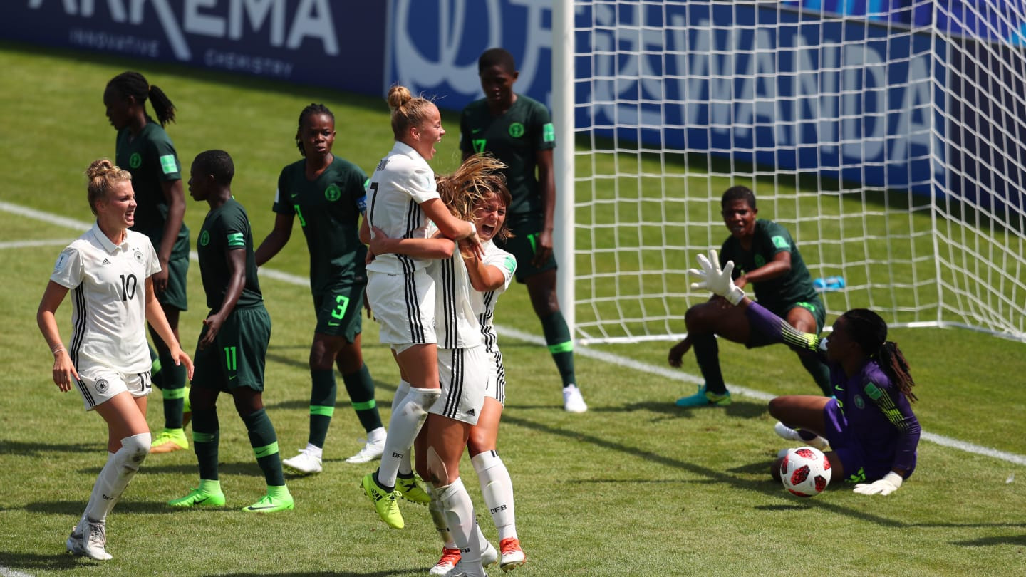 Three-time winners Germany begin FIFA Under-20 Women's World Cup campaign with victory