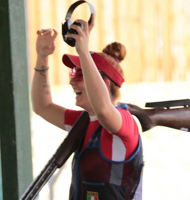 De Luca breaks world record at European Shotgun Championships