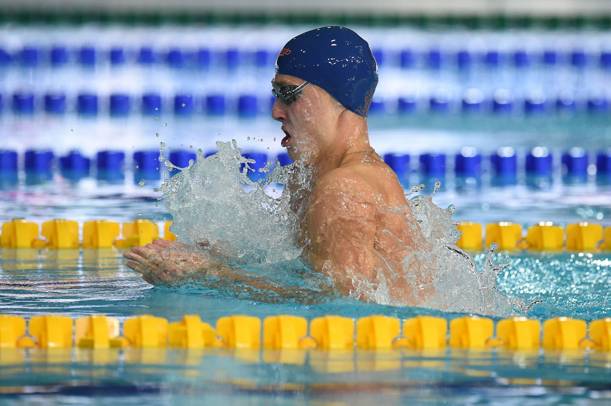 World champion Anton Chupkov broke his own European record to win the men's 200m breaststroke final ©Getty Images