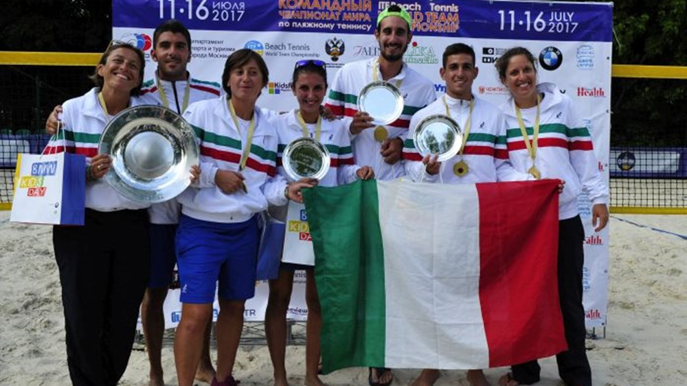Italy targeting Beach Tennis World Team Championship title defence