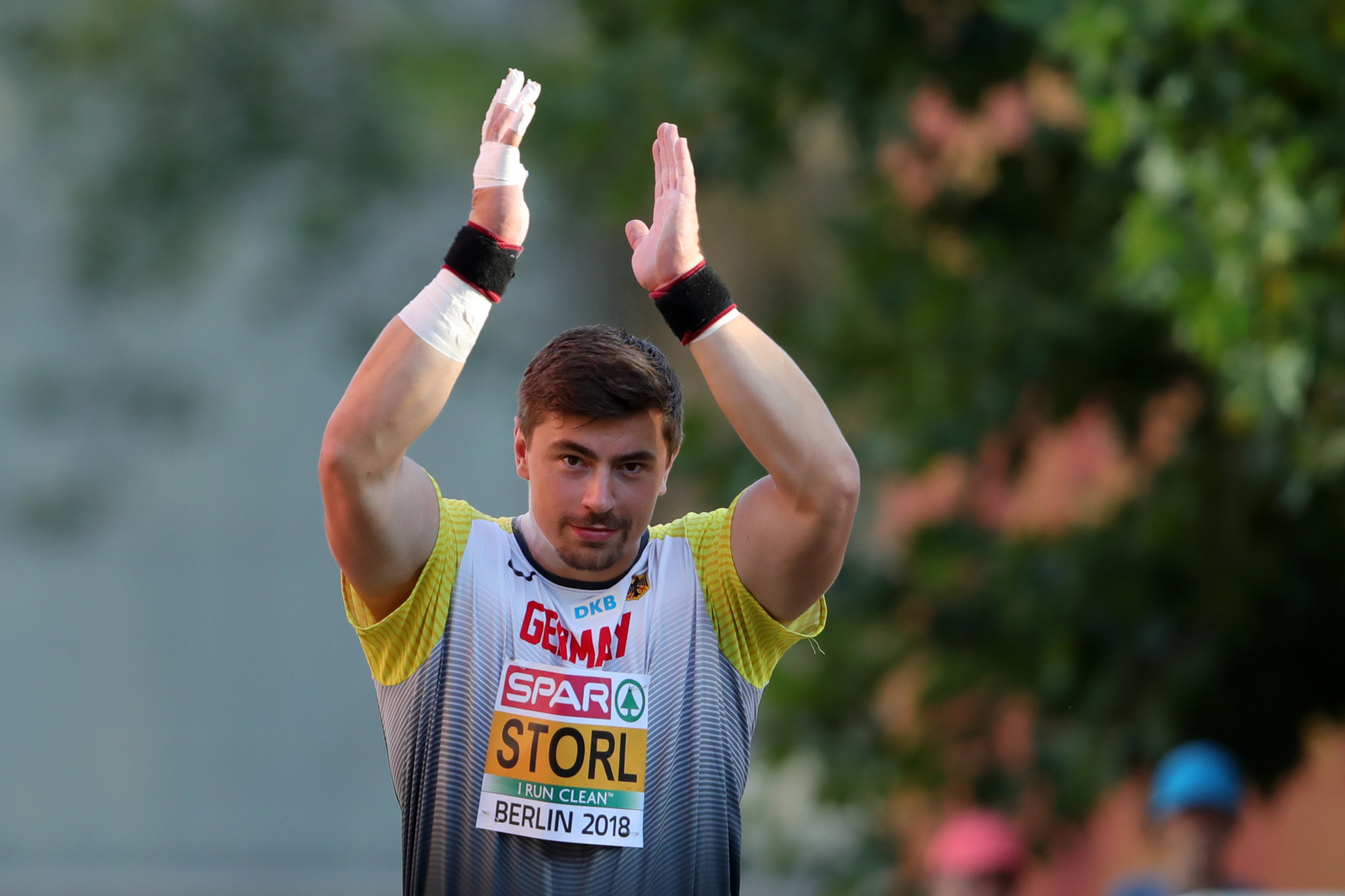 Storl rises to home expectations in European Mile showcase as he seeks fourth shot put title
