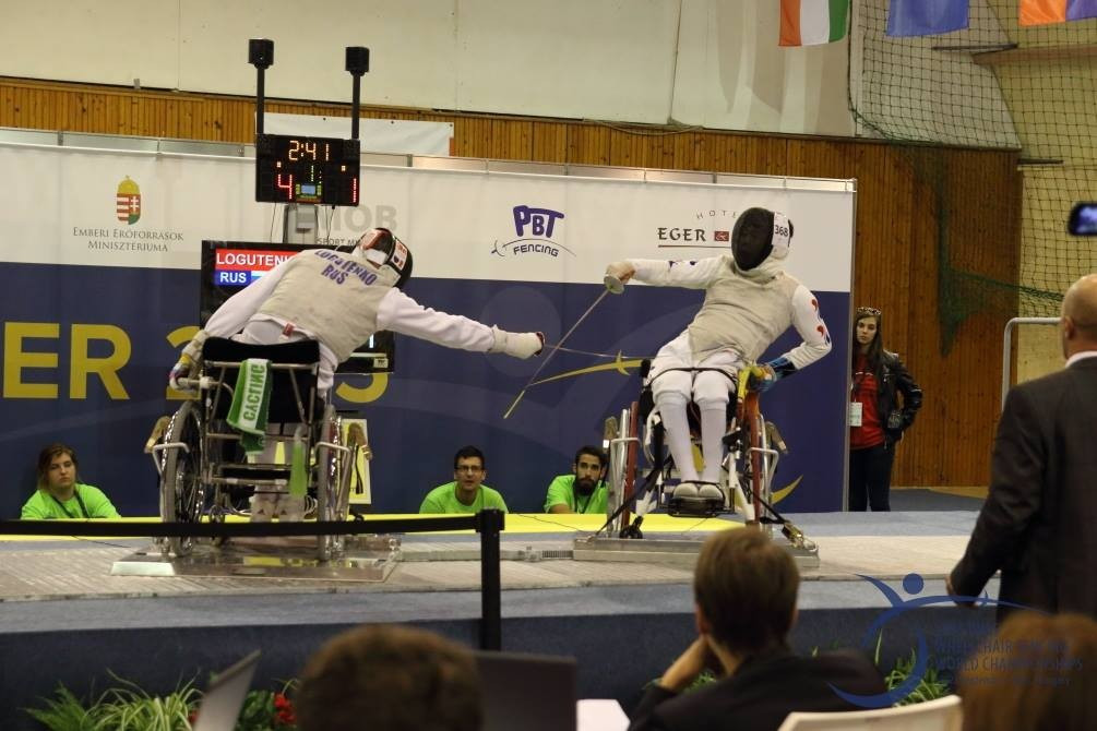 Golden foil double for Russia at World Wheelchair Fencing Championships