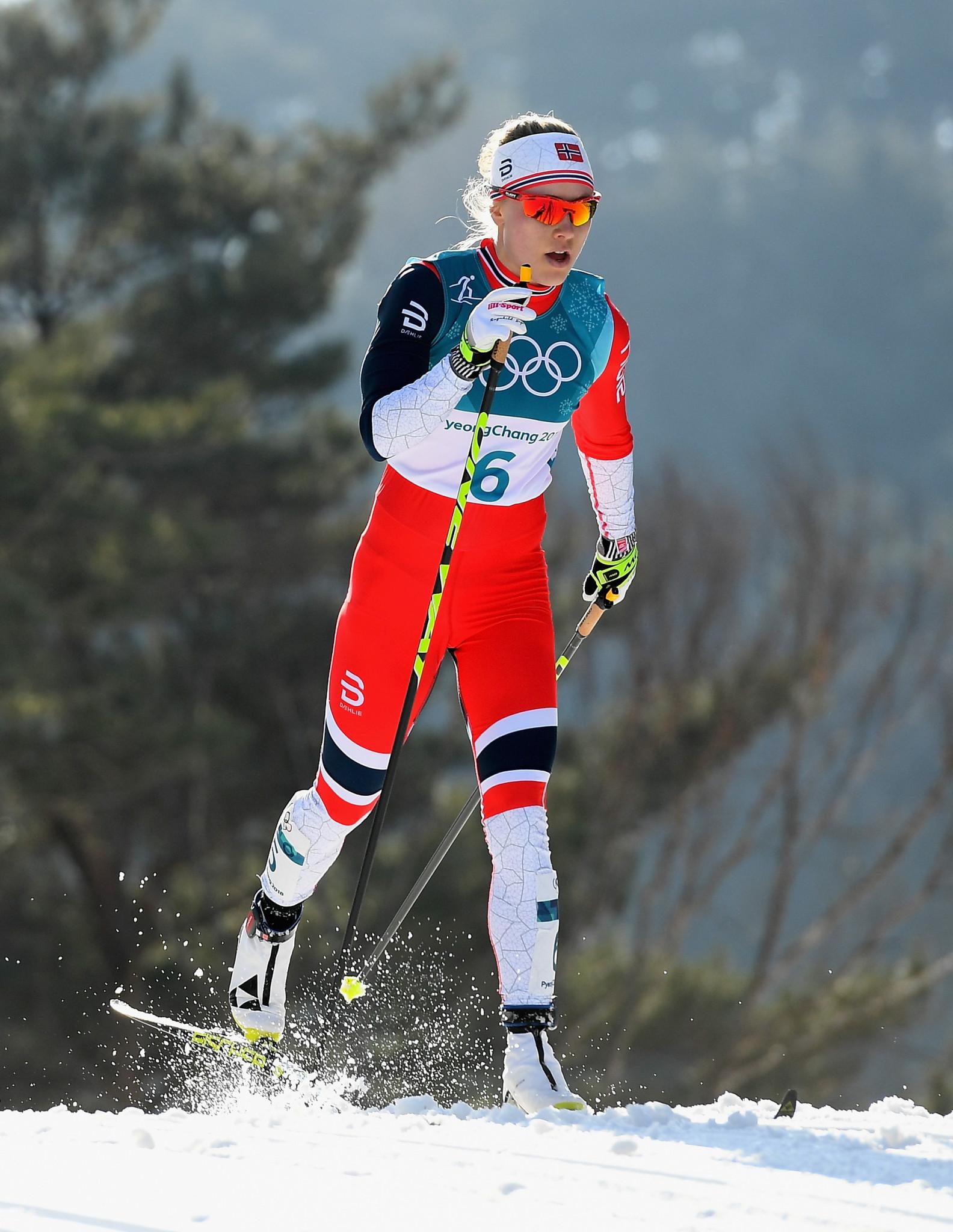 Ragnhild Haga won two Olympic titles at Pyeongchang 2018 ©Getty Images