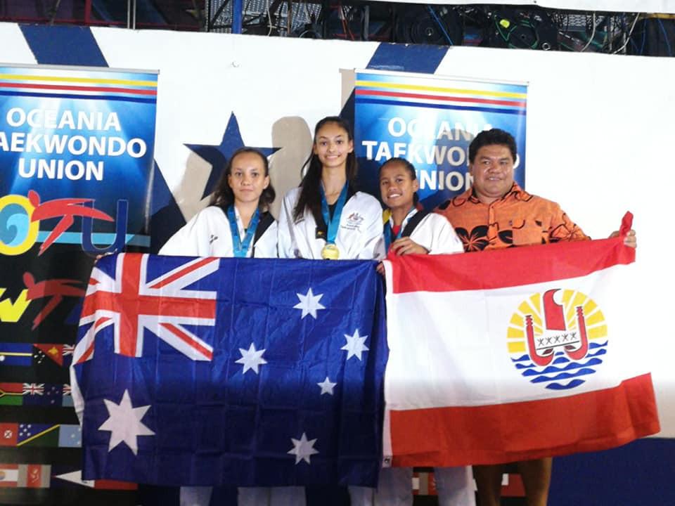 Australian athletes were in dominant form ©Taekwondo Australia/Facebook