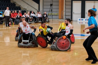 Colombia earned a historic first World Championship victory over Poland ©IWRF