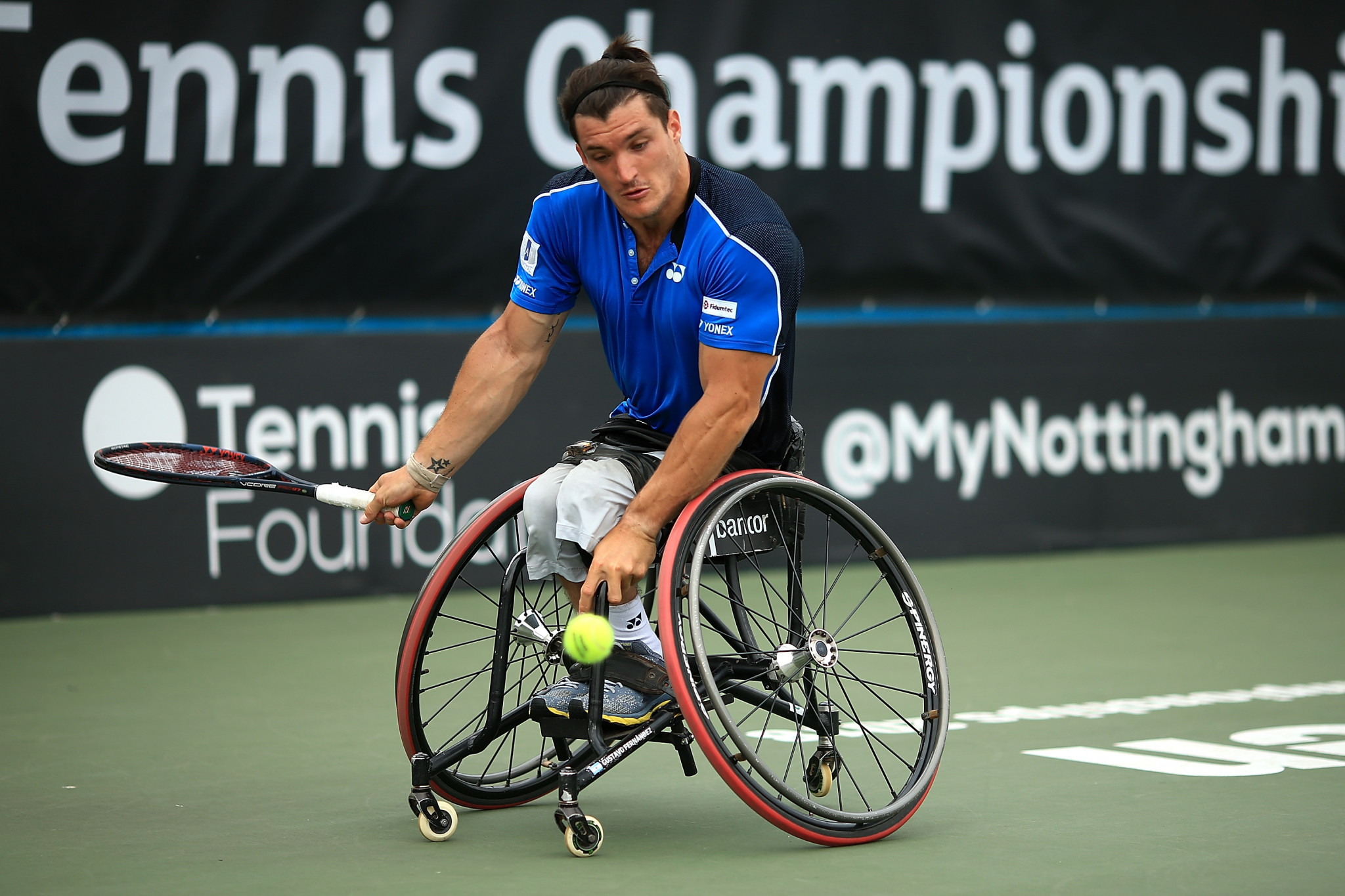 Argentinean wheelchair tennis player Gustavo Fernández has also been nominated ©Getty Images