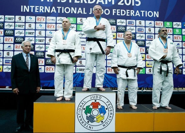 Six age group events get IJF Veteran World Championships underway in Amsterdam