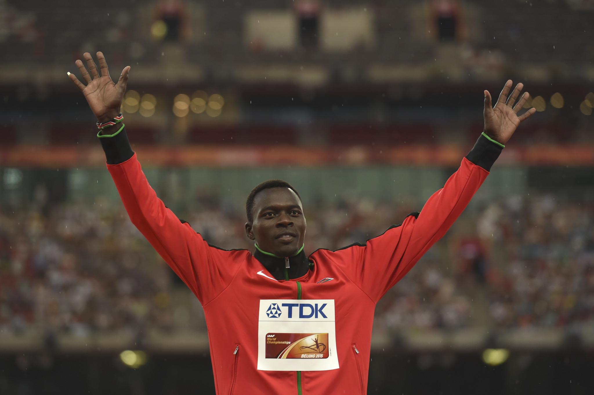 Kenyan world 400m hurdles champion dies in car crash