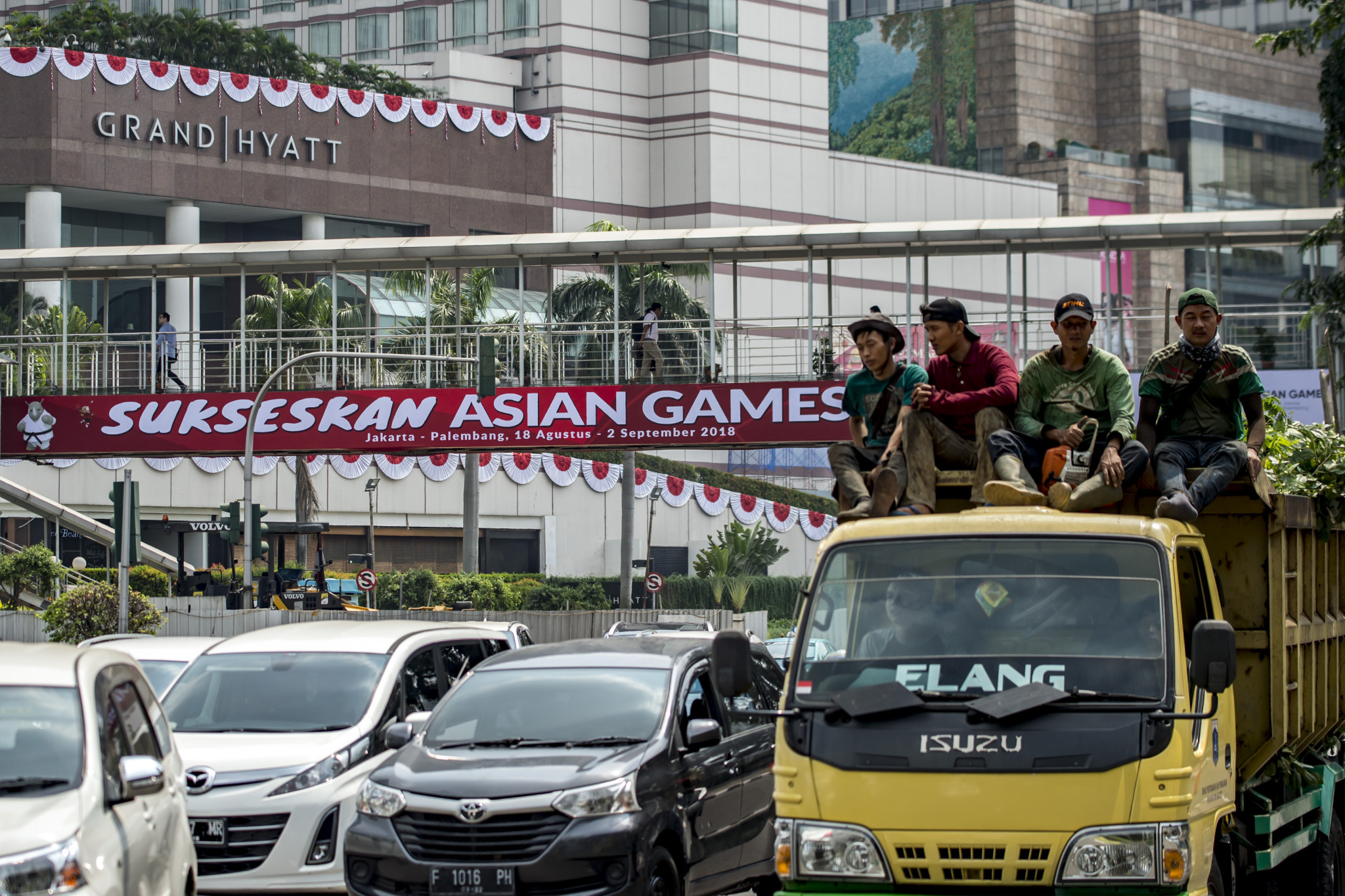 Schools in Jakarta are to be closed during the Asian Games to try to help ease the pressure on traffic ©Getty Images