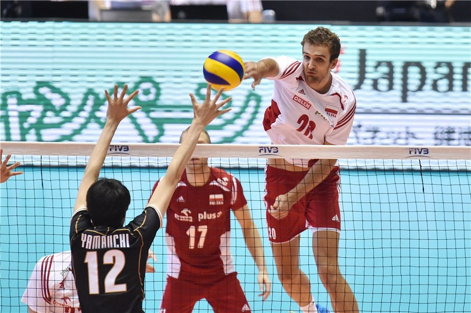 Poland edge closer to men's FIVB World Cup title with victory over hosts Japan