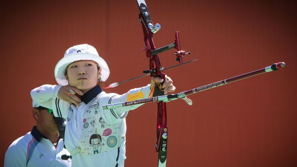Choi Misun claims women's recurve gold at Rio 2016 test event