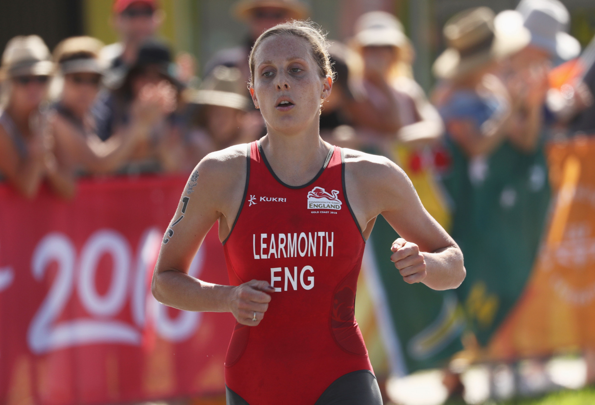 Jessica Learmonth, who won silver at the 2018 Commonwealth Games in Australia, will look to defend her European title in Glasgow tomorrow ©Getty Images