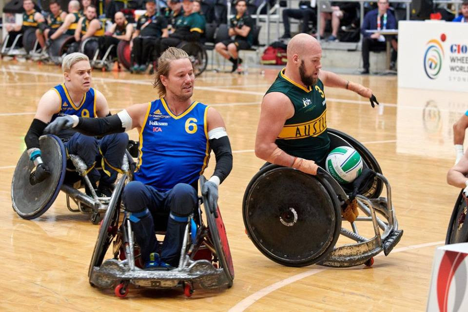 Semi-final line-up completed at Wheelchair Rugby World Championship