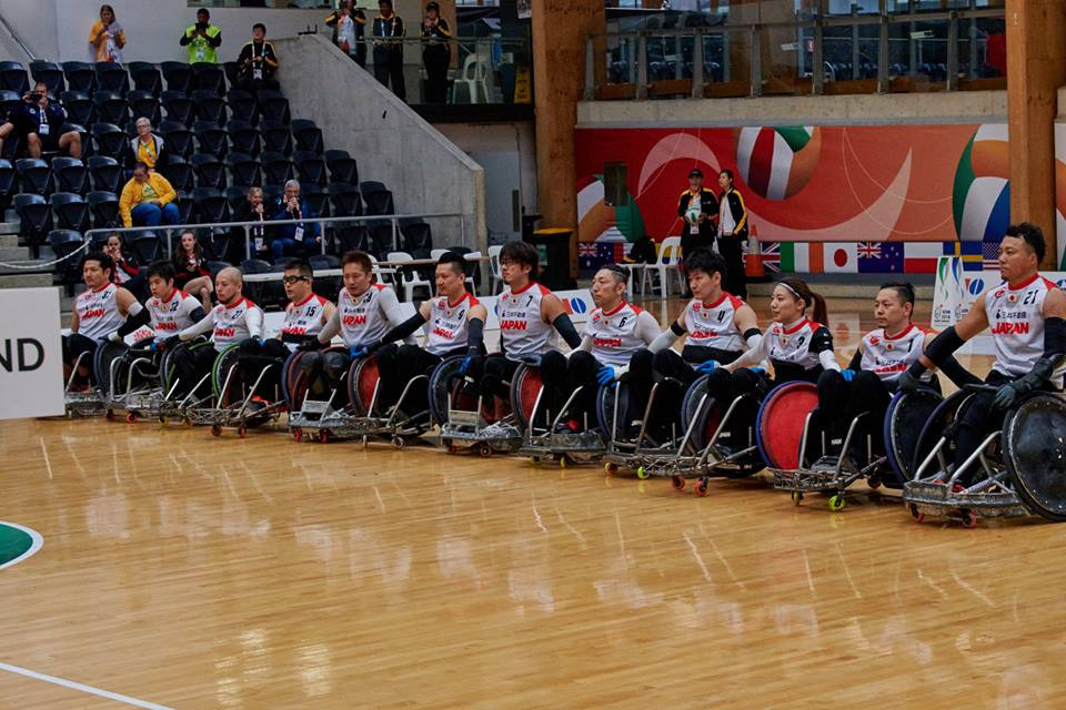 Japan went through after a big win over Denmark ©IWRF