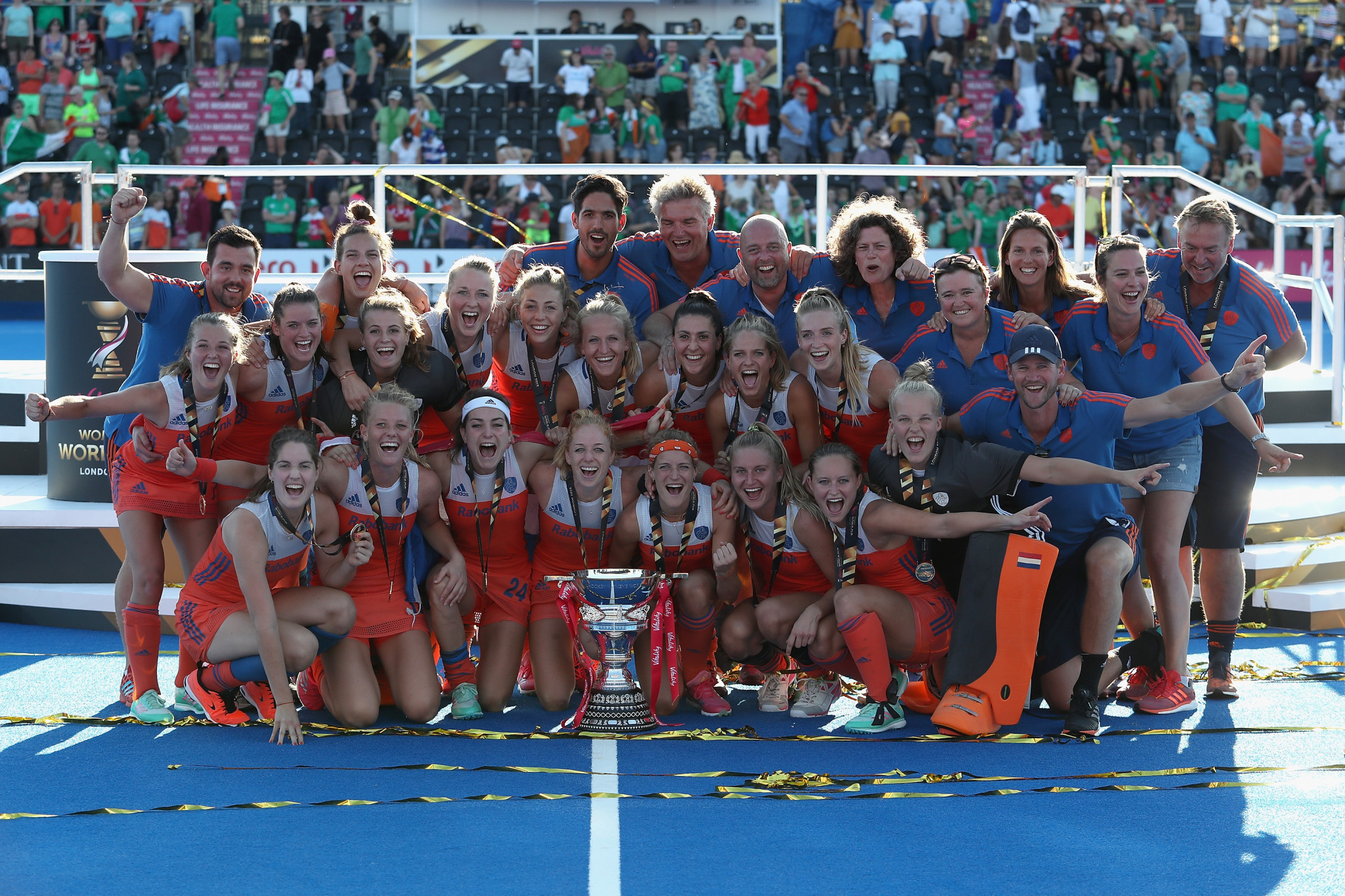 Ireland climb into top 10 as Dutch retain first place on FIH women's world rankings