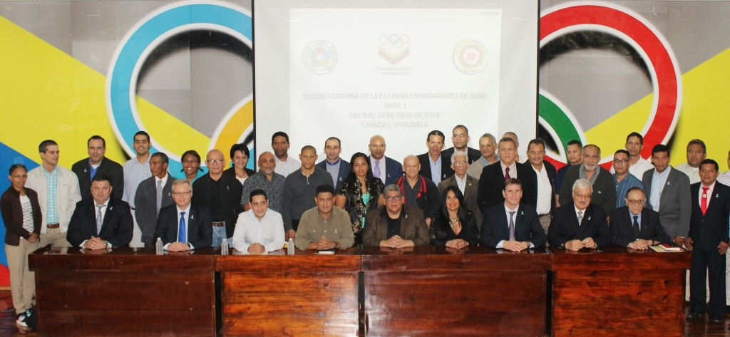 International Judo Federation sign deal to promote young stars in Venezuela