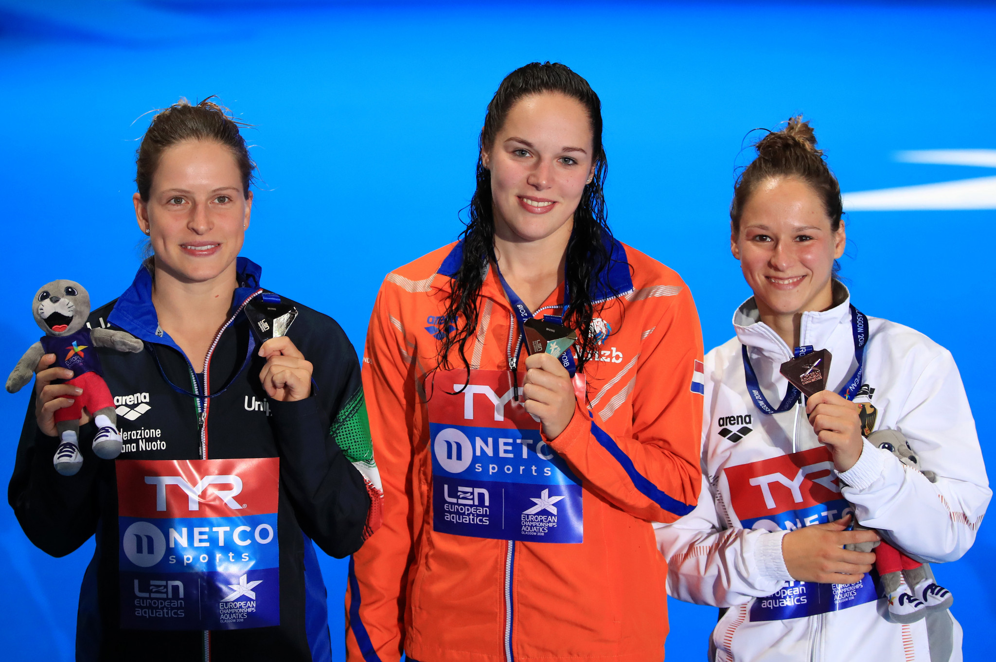 Gold for Netherlands in women's 10m platform as defending champion Toulson comes fifth at European Championships