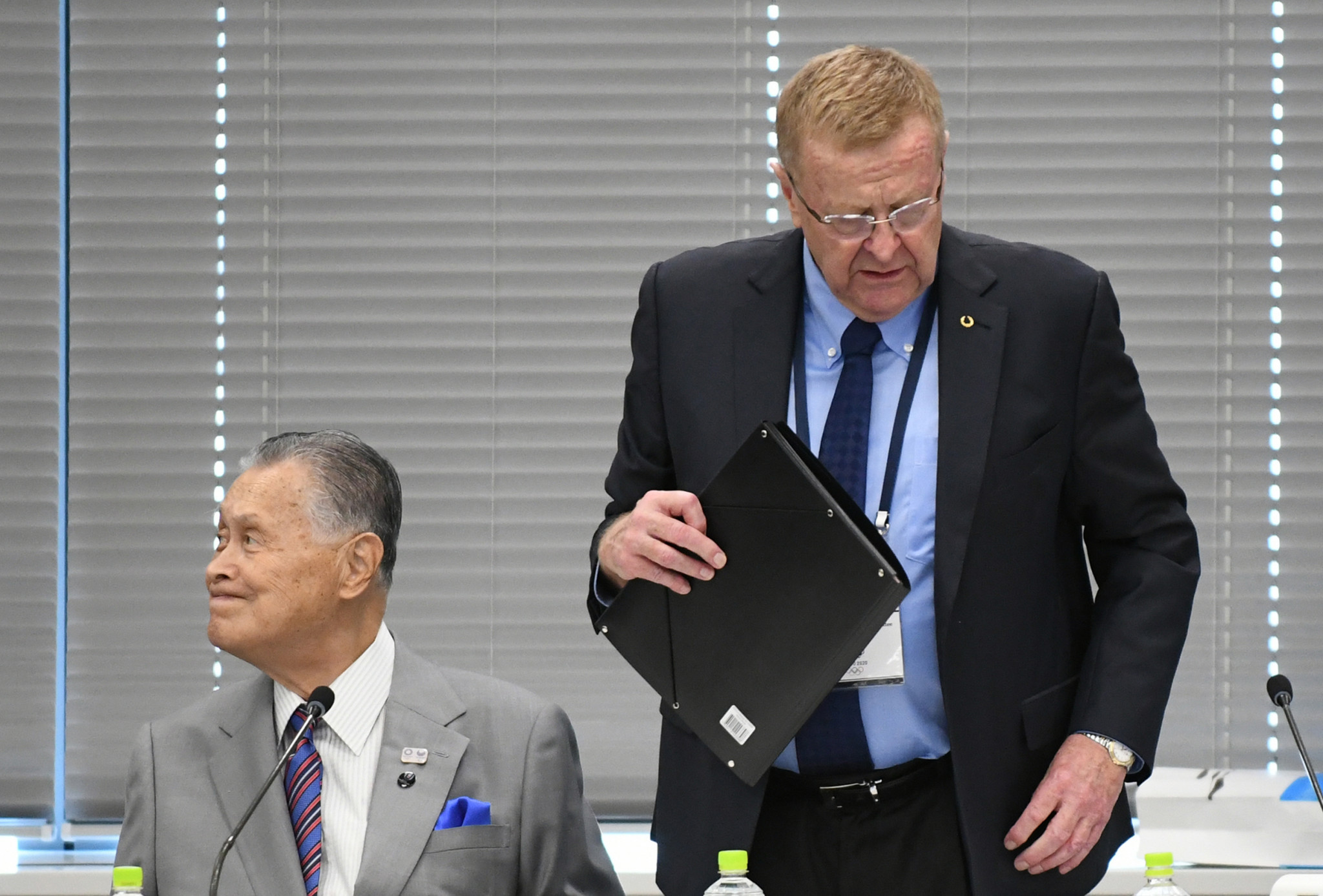 John Coates, right, is chair of the IOC Legal Affairs Commission ©Getty Images
