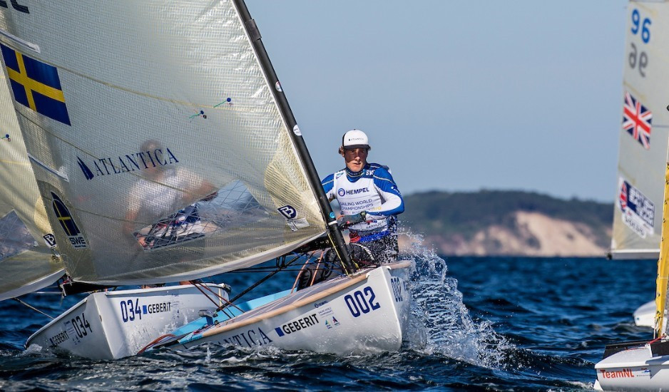 Olympic gold medallist Salminen seizes control of finn class at World Sailing Championships in Denmark