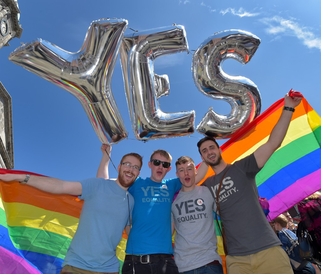 A decision was made to support same-sex marriage in Ireland following a referendum in May ©Getty Images