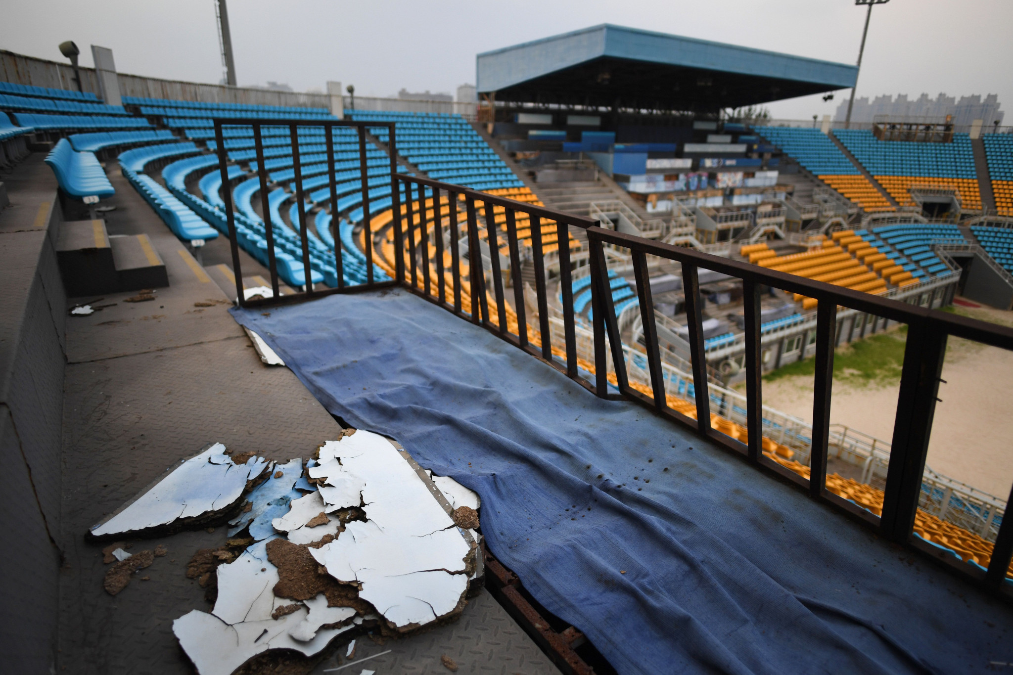 Pictures have emerged of decaying state of some of the facilities from the 2008 Olympics in Beijing ©Getty Images