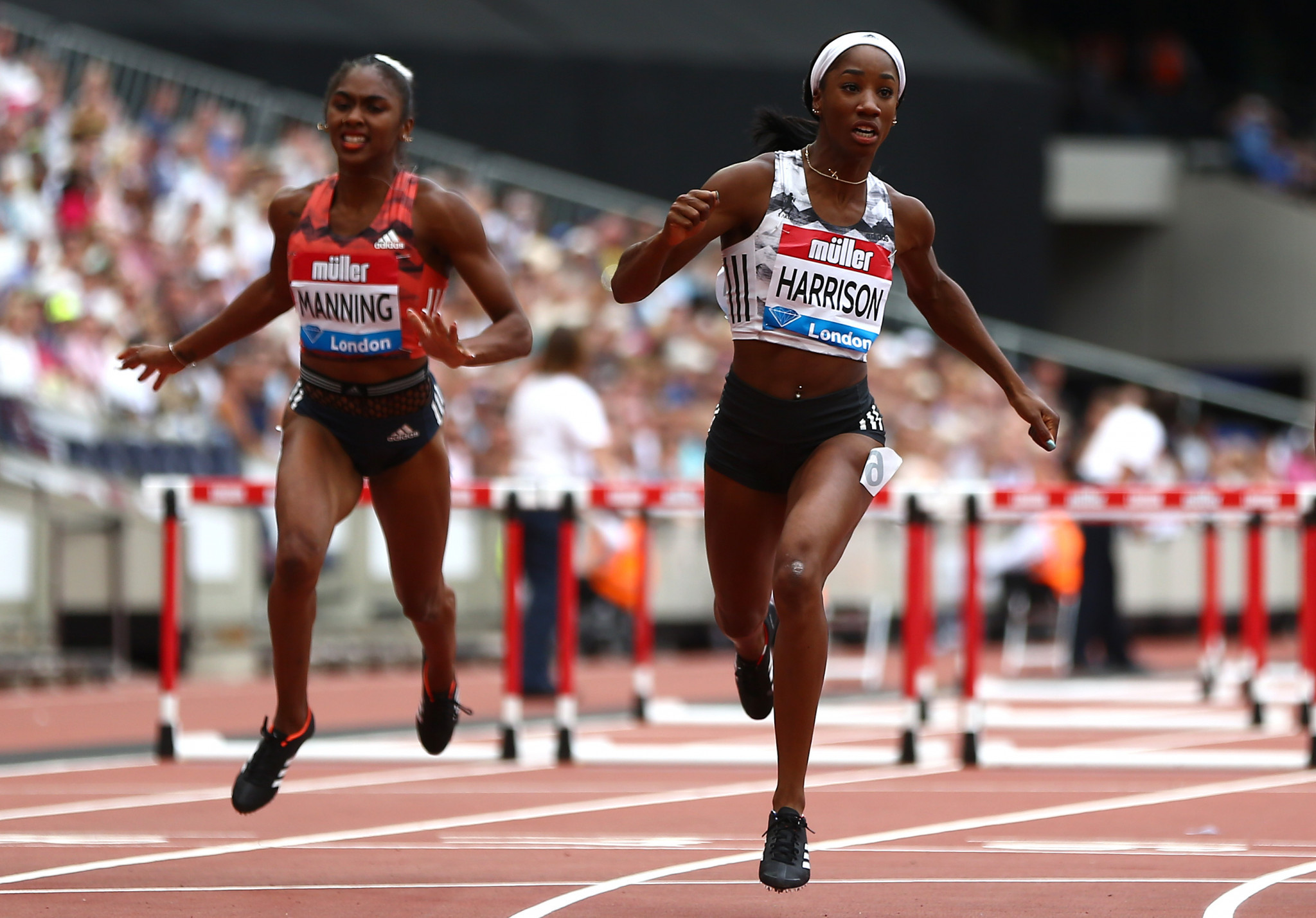 Women's 100m hurdles world recorder holder Kendra Harrison is set to lead the American team at the  NACAC Championships at the Varisty Stadium in Toronto ©Getty Images