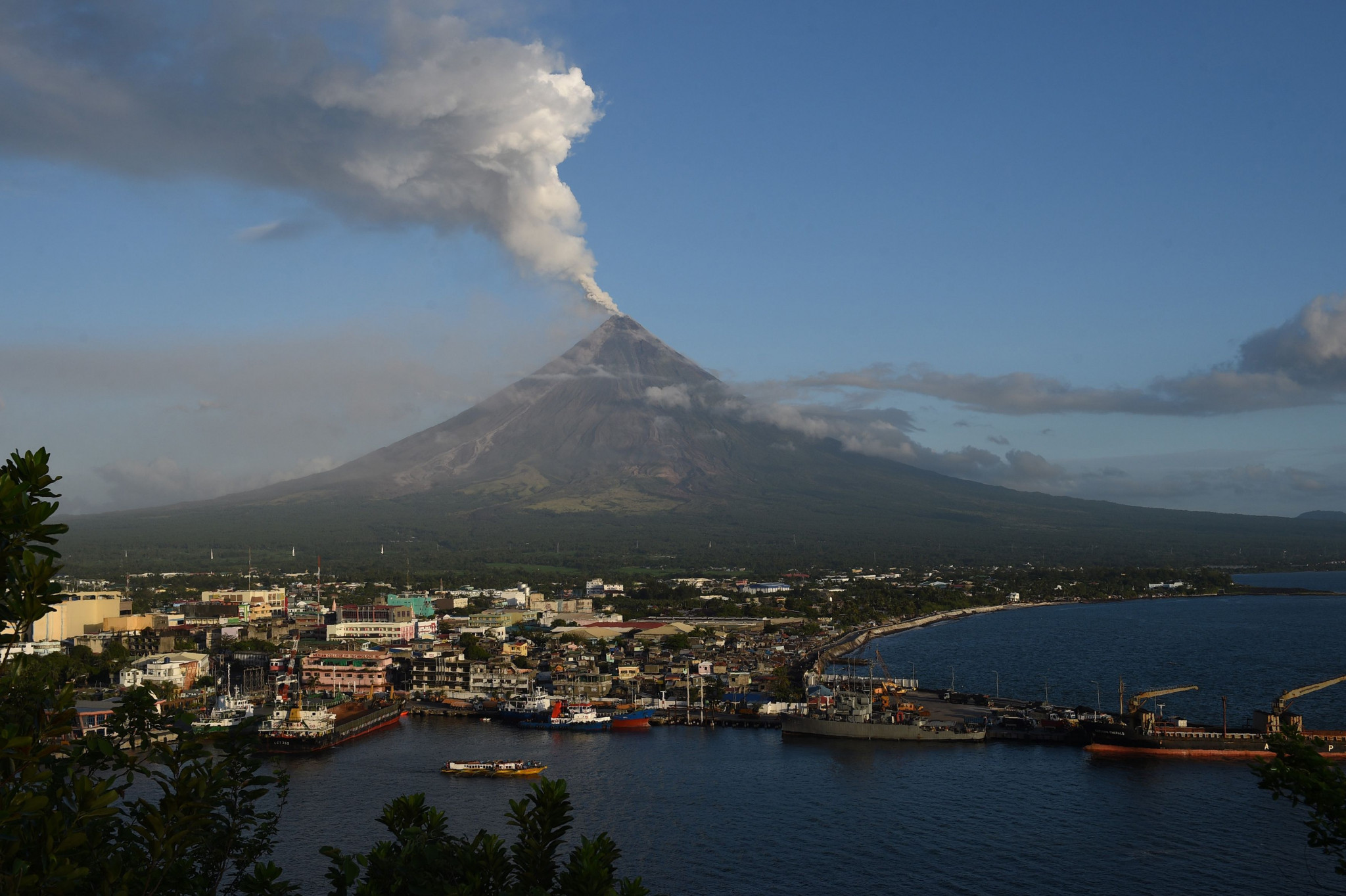 The event is due to be held in the city of Legazpi ©Getty Images