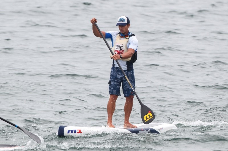 Stand-Up Paddling contains elements of surfing and canoeing ©ICF