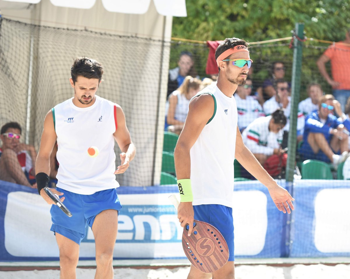 Italy continue strong pursuit of Beach Tennis World Team Championships title defence