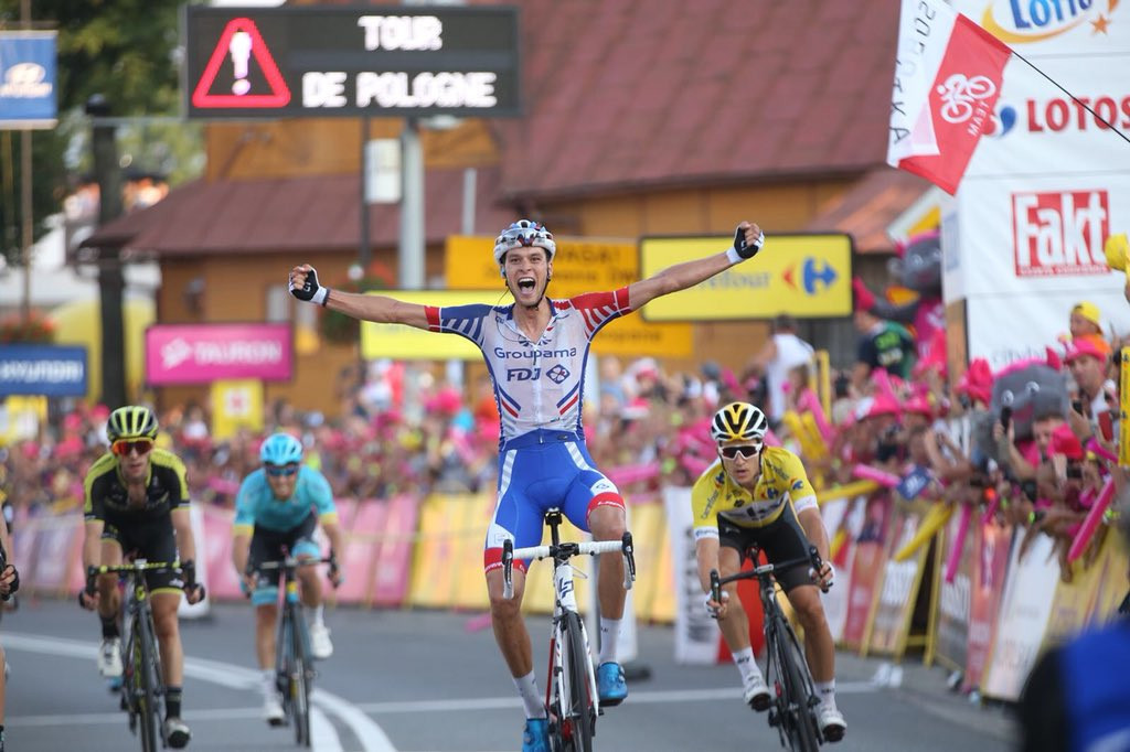 Preidler survives mountains and sprints to Tour of Poland stage win