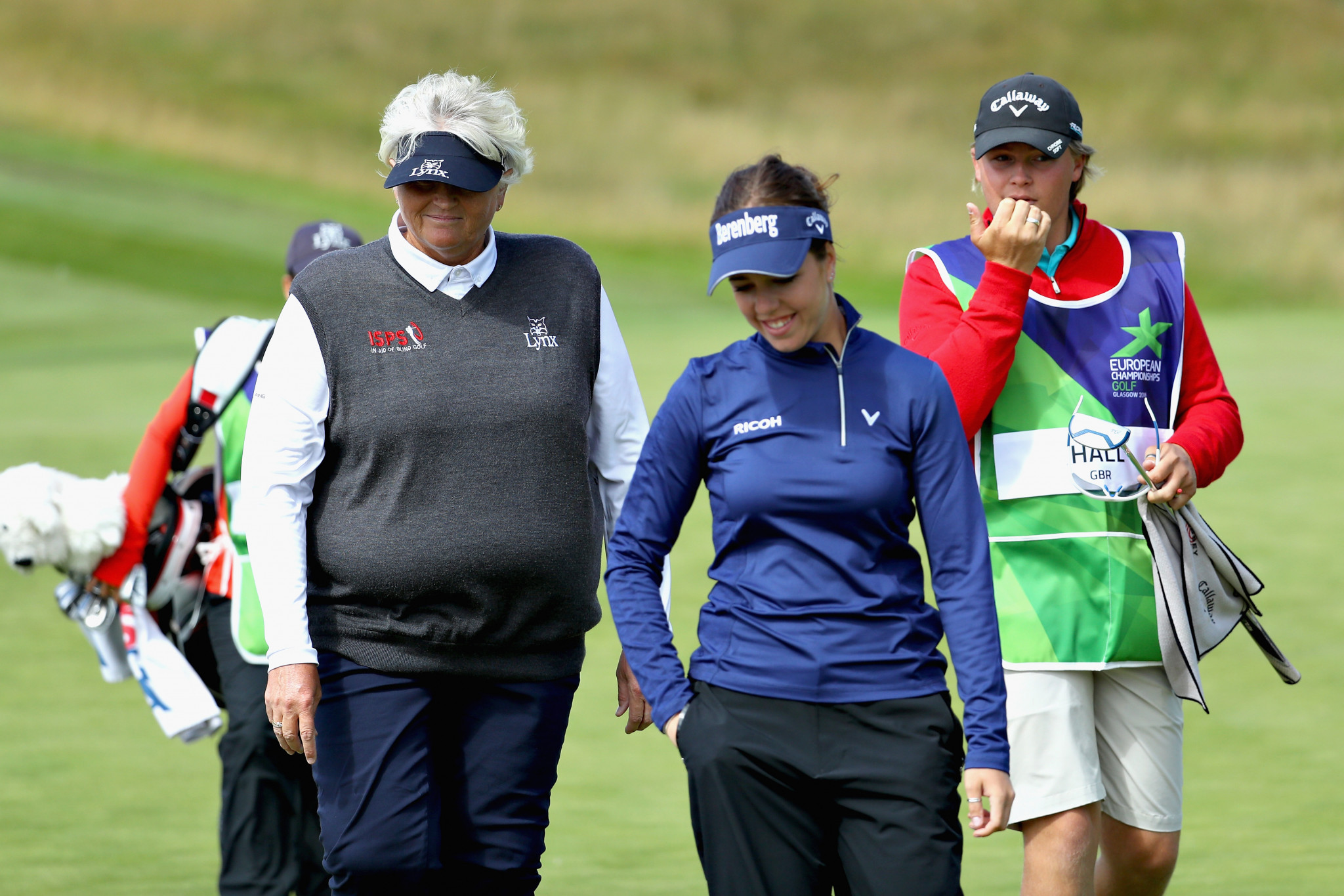 Georgia Hall and Laura Davies are among three British pairs in pole position to make the semi-finals after day two of the European Golf Team Championships at Gleneagles ©Getty Images