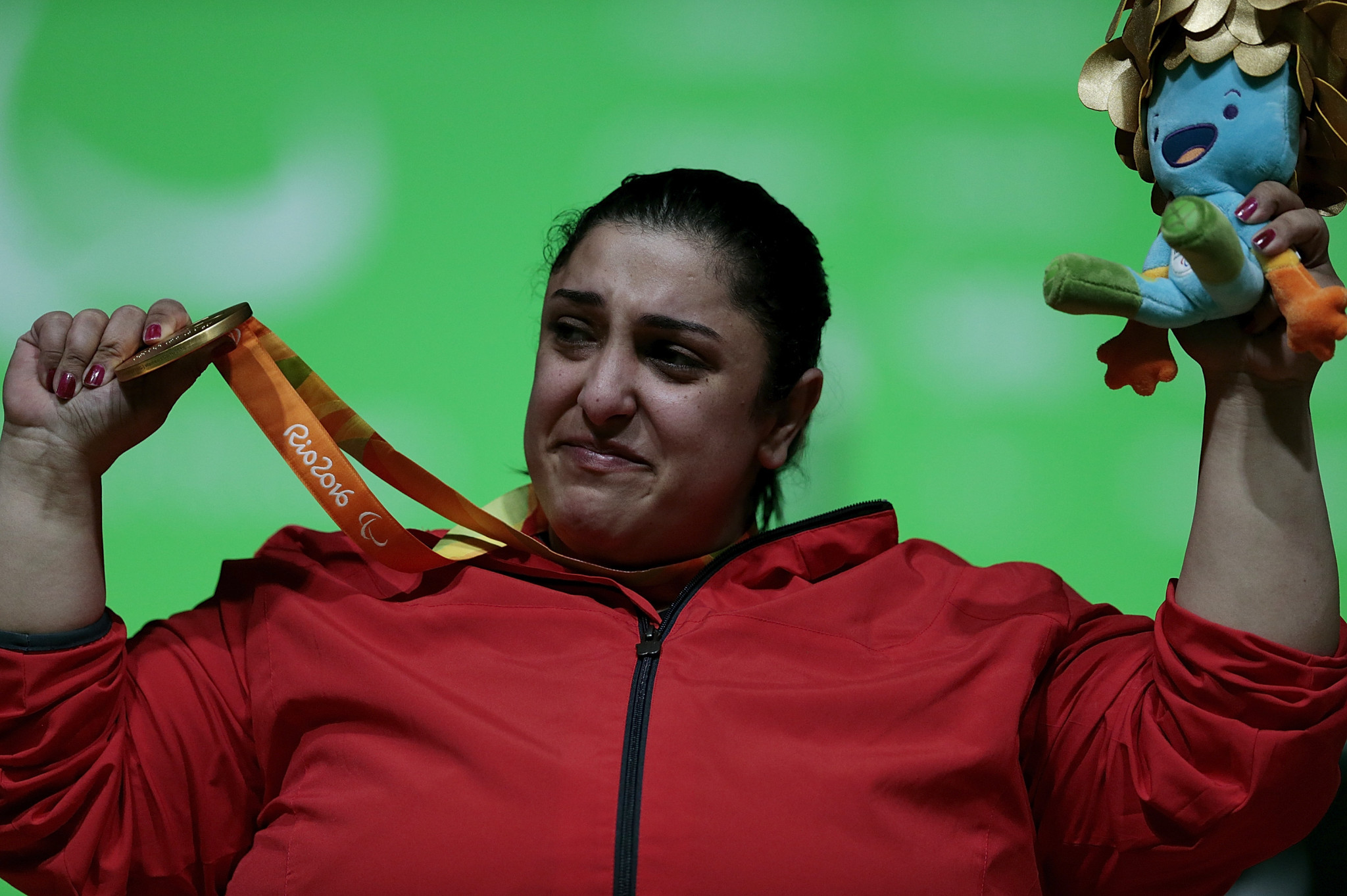 Egypt's Randa Mahmoud will fight for gold in the women's over 86kg class  ©Getty Images