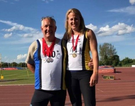 Joanna Blair's coach David Burrell, has also been banned for four years after he refused to take a drugs test ©Luton Athletics Club