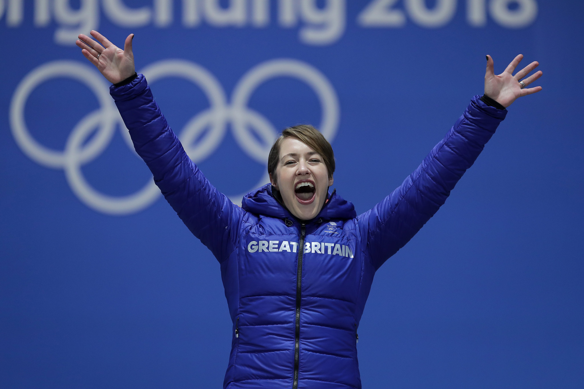 Britain's Lizzy Yarnold has won two Olympic gold medals under British Skeleton performance director Andi Schmid ©Getty Images