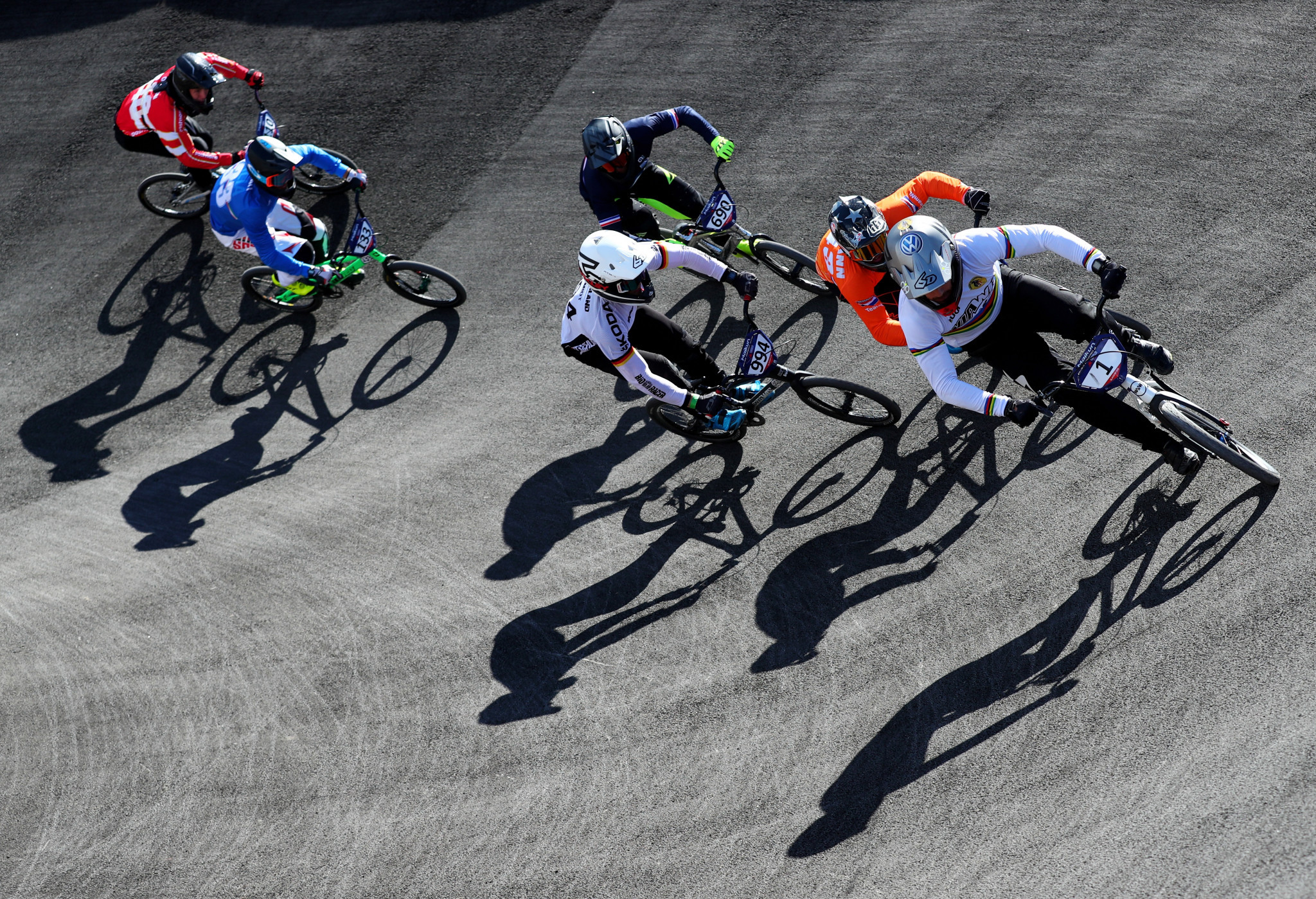 France's André overcomes pain to keep BMX gold medal bid on track at Glasgow 2018 European Championships