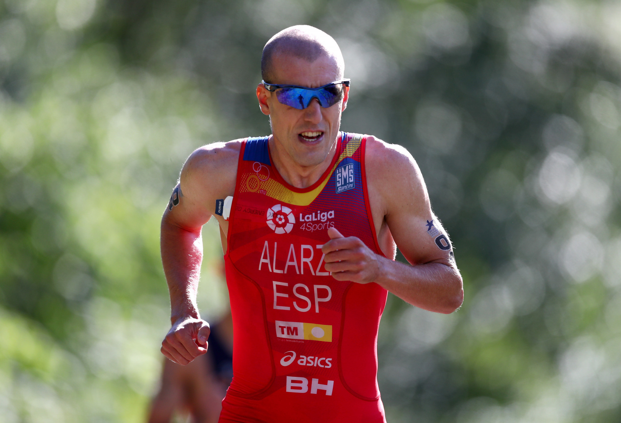 Spain's Fernando Alarza produced a blistering run to move into the silver medal position ©Getty Images