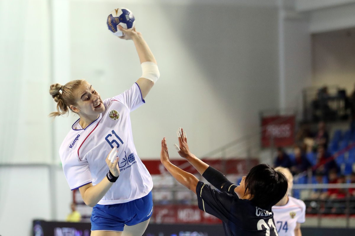 Russian dominance continues at IHF Women's Youth Handball World Championships