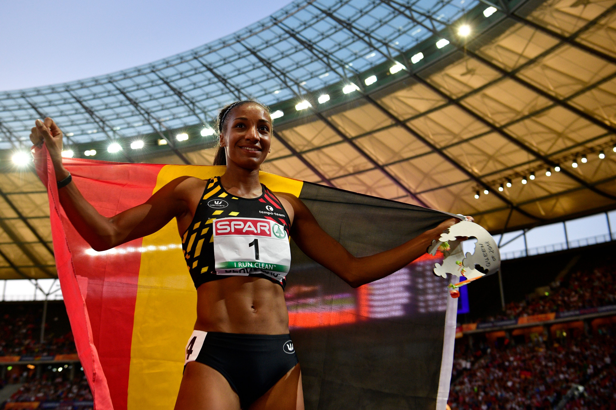 Belgian star Thiam triumphs in women's heptathlon on day nine of 2018 European Championships