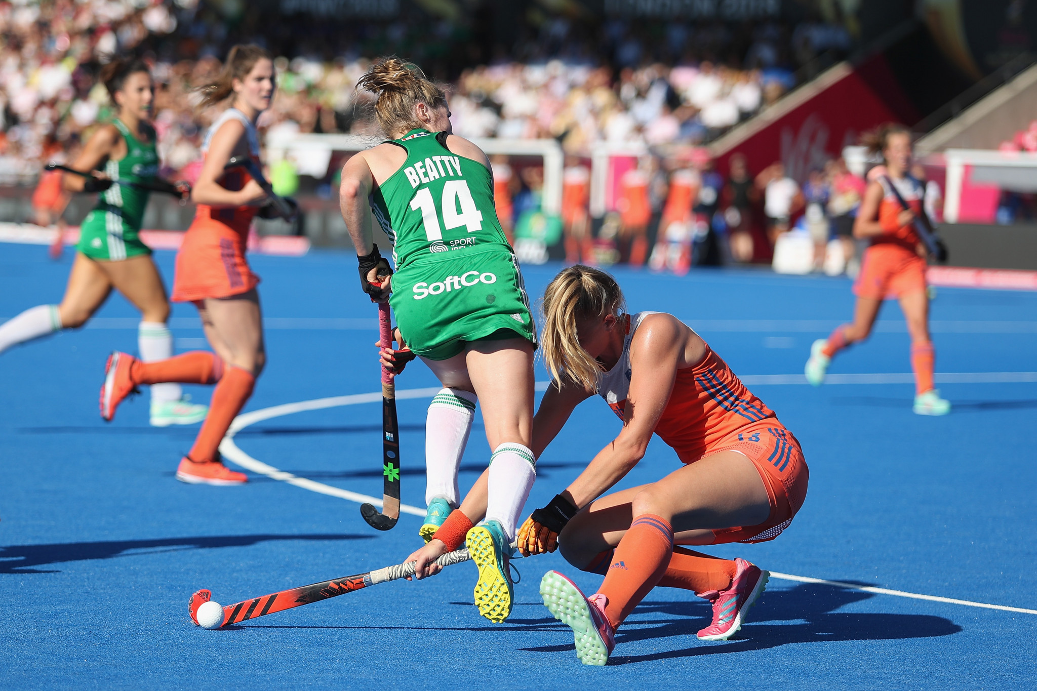 The success of this year's Women's Hockey World Cup, including the surprise performance of Ireland, who reached the final before being beaten by The Netherlands, has raised the profile of the sport ©Getty Images