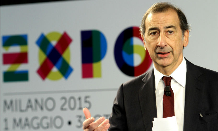 Milan Mayor Giuseppe Sala has insisted the city remains part of the joint Italian bid for the 2026 Winter Olympic Games as he reiterated his criticism of the project ©Expo 2015