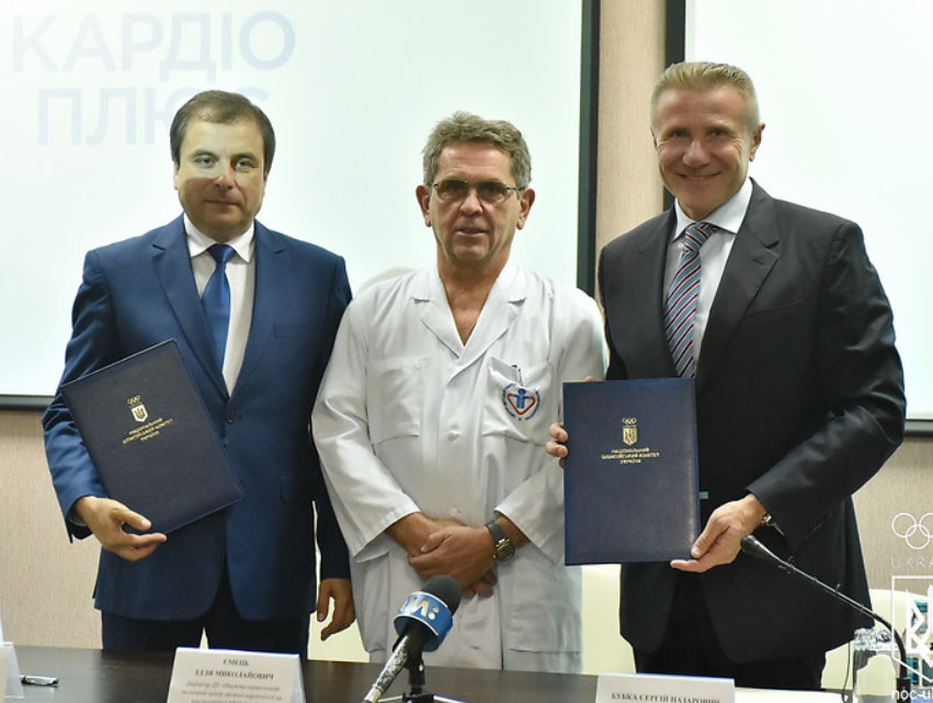 National Olympic Committee of Ukraine announce partnership with scientific medical centre